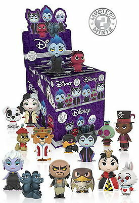 Case of 12: Funko Mystery Minis Disney Villains Blind Box Figures