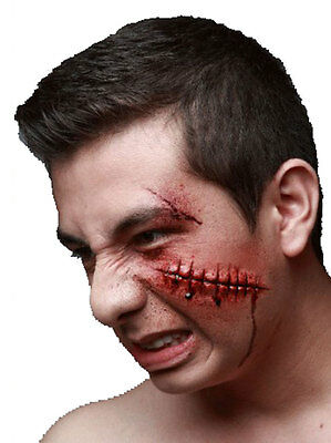 Failed Stitches - Latex Prosthetic Wound Application Halloween Horror