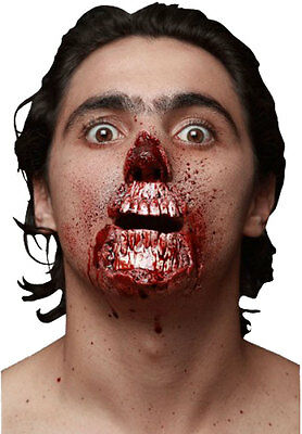 Meat Lover - Two Latex Prosthetic Wound Application Halloween Horror