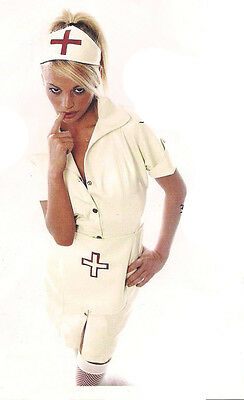 The Federation Rubber Latex Nurse Uniform Dress Brand New Cross Dress
