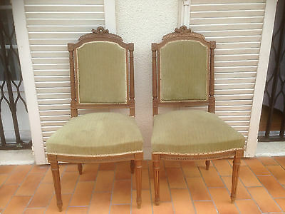 Tr s belle chaise de nourrice chauffeuse xixe napol on iii for Style chaises anciennes