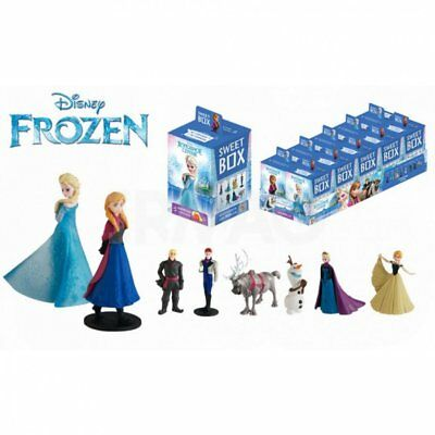 Frozen 4 Sweet Boxes Surprise Collectible Toys Olaf Anna Elsa Hans & Jelly Beans