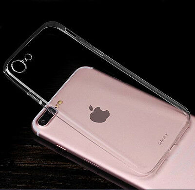 2xUltra Thin Invisible Clear Gel skin Case Cover For Iphone 7 7Plus 8 8plus X XR