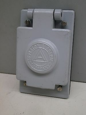 Appleton FSK-WT2 Weatherproof Wet Location Aluminum Cover for Toggle Switch