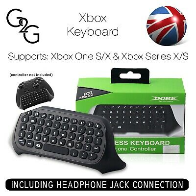 Xbox One 2.4G Mini Wireless Chatpad Message Text Keyboard for Xbox Controller UK