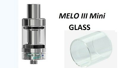 Authentic ELeaf MELO 3 Mini Clear Replacement Pyrex Glass Tank Tube UK
