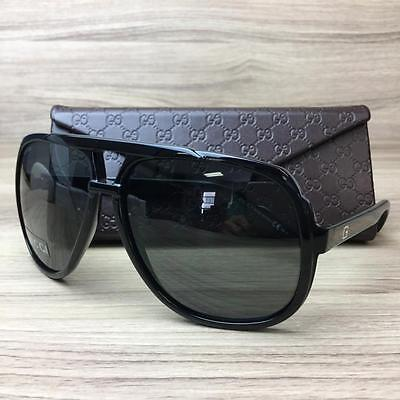 Gucci GG 1622 S GG1622/S Sunglass Frames Black D28R6 Authentic 63mm