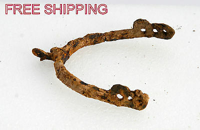 Rare Ancient Medieval Roman Artifact - Iron Spur