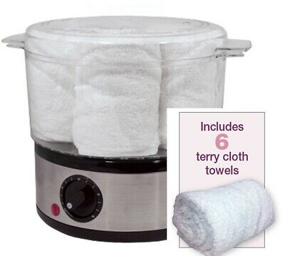 FANTASEA Portable Towel Steamer TW-37, Includes 6 Towels BRAND NEW!! HOT SALE!!