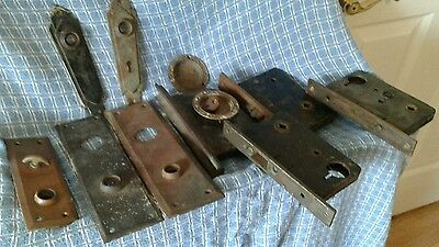 VINTAGE DOOR HARDWARE LOT of 10