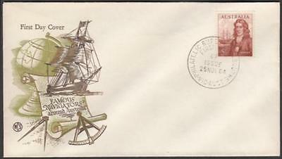 Australia 1964 Navigators 5/- William Dampier on Wesley First Day Cover