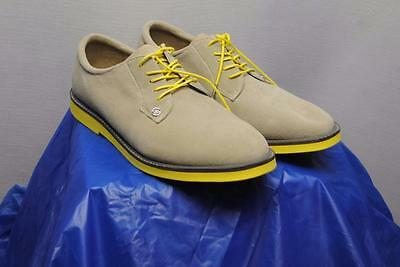 New Mens Size 10.5 G Fore Gallivanter Suede golf shoes Sand