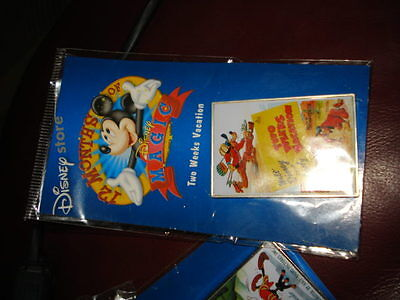 Disney Store 2000 12  Months Of Magic Goofy 2 Two Week Vacation Pin Sealed Mint