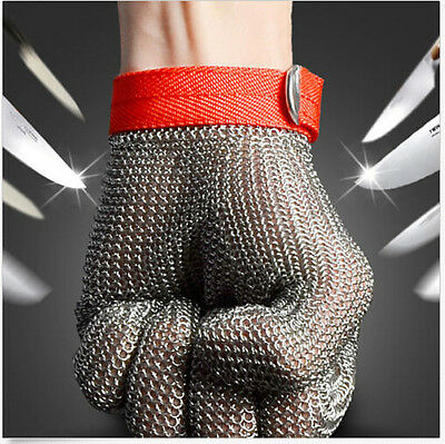 Safety Cut Proof Stab Resistant Stainless Steel Metal Mesh Glove for Butcher
