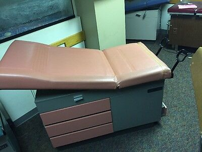 RITTER 104 Medical Exam Table Adjustable Flexible w/Stirrups & Drawers Unit 4