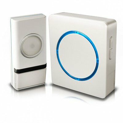 Swann Wireless Door Chime/Door Bell with Compact Backlit Design SWHOM-DC810B