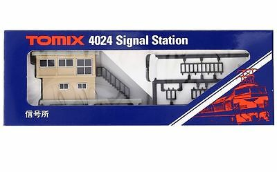 New Tomix 4024 N Scale Model Train Signal Station