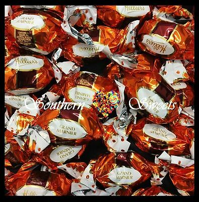 Hilliers 700G Grand Marnier Liqueur Twistwraps Christmas Chocolates Xmas Lollies