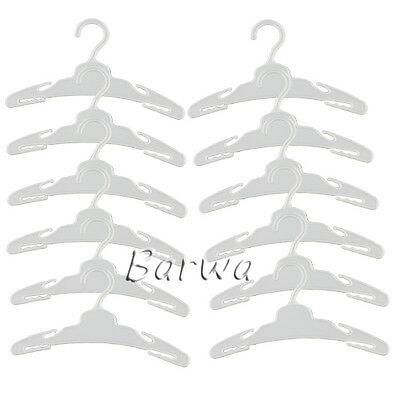 12 Pcs Hangers Set Clothes Hangers Kit  for 18 Inch American Girl Doll Xmas Gift