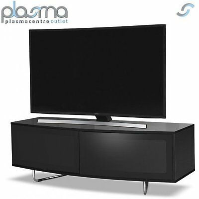 """MDA Designs Caru TV Stand for up to 65"""" TVs - Black"""