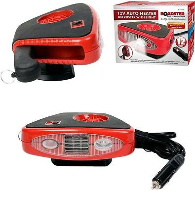 12V Car Heater Auto Cooler Dryer Defroster Demister 2 In 1 Hot Cool Fan Van