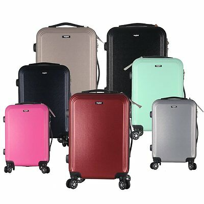 "4 Wheels Large 28""/ Medium 24""/ Small 20""Suitcase ABS Luggage Hard Shell Trolley"
