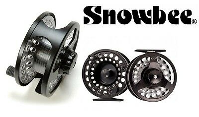 Snowbee ONYX Cassette Large Arbor Fly Reel #5/7 Wt Trout Disc Drag Brand New
