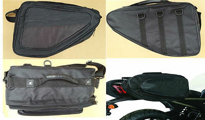 RKSport Sports Pair Panniers Motorbike Motorcycle Luggage 48 Litre