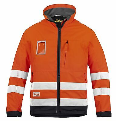 Snickers 1133 High-Vis Winter Jacket, Class 3  Visibility SnickersDirect Orange
