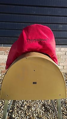 Thorowgood Fleece Elasticated Saddle Cover With Embroidered Logo