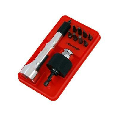 11pc Twist-lock Drill & Drive System - Turns Drill To Screwdriver -Quick Release