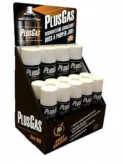 PlusGas Fast Release 200ml / 250ml / 400ml Can's Just Choose The Size You Need.