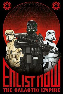 Star Wars Rogue One (Enlist Now) - Maxi Poster 61cm x 91.5cm PP33967 - 149