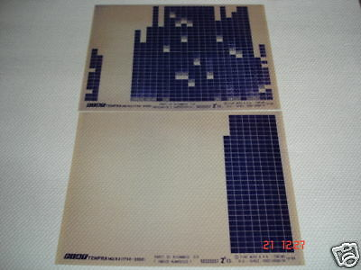 FIAT TEMPRA MQ/93 1750, 2000 PARTS MICROFICHE FULL SET OF 2 - 2a EDITION