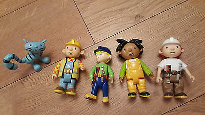 Bob The Builder Figure Wendy Bob Molly Pilchard Activity Toy
