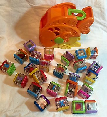 Tumblin' Sounds Goldfish  Fisher Price  25 Blocks