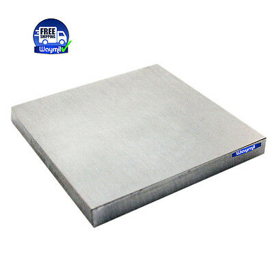 """STEEL BENCH SOLID BLOCK 4"""" x 4""""x 1/2"""" FLATERING HAMMERING JEWELRY FORMING TOOL"""