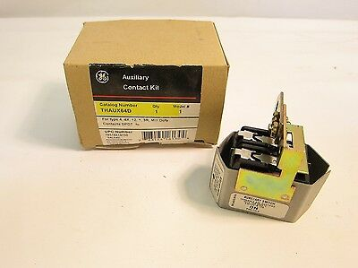 New in Box GE THAUX64D Auxiliary Contact Kit DPDT 4 4X 12 1 3R Mill Duty