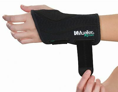 "Mueller Green Fitted Wrist Brace Carpal Tunnel Fits wrists up to 8"" 86271 - 272"