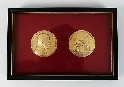 President Theodore Roosevelt Panama Canal Treaties Satirical Medals Coins