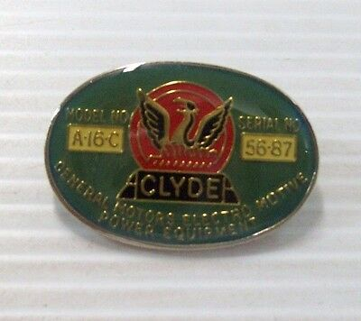 Clyde Builders Plate Metal Badge