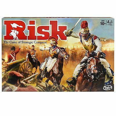 Hasbro Risk Board Game - Game Of Strategy Conquest (Has-B7404)
