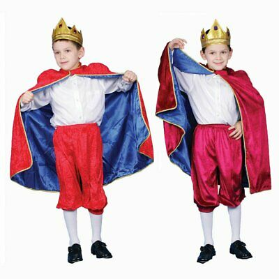 Deluxe Royal King Costume Set For Kids By Dress Up America