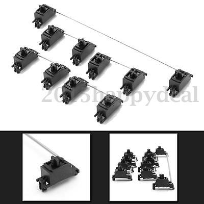 5Pcs Black PCB Mount Mechanical Keyboard Cap Stabilizer For Cherry MX Switch