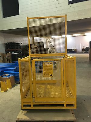 Safety Cage - Forklift, Man Up Cage, APC as New!  Cost $990-