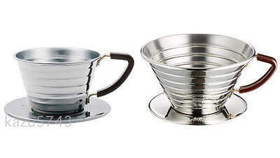 Kalita Wave Dripper 155 For 1-2 Cups #04021 & 185 #05033 For 3-4 Cups from JAPAN