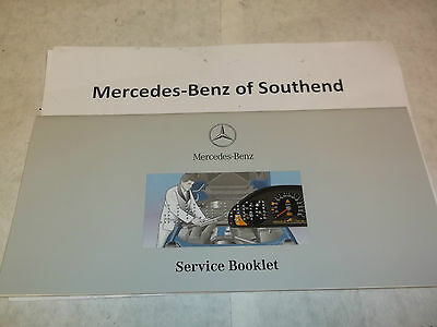 Genuine new Mercedes-Benz duplicate service book for stamping