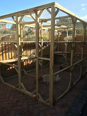Brand New Large Cat /rabbit/ferret Enclosure/run/aviary