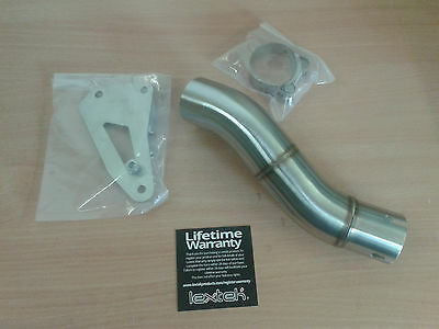 LEXTEK Stainless Steel EXHAUST LINK PIPE for TRIUMPH SPEED TRIPLE - 2011 2012