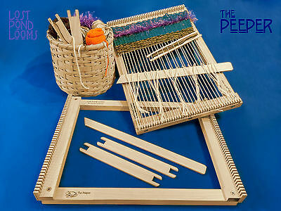 "Lost Pond Looms ""THE PEEPER"" Small Table Top Loom"